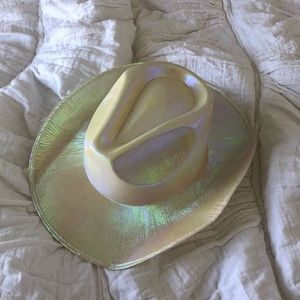 Shimmery Cowboy Costume Hat